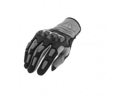 ACERBIS rukavice na motorku CARBON 3.0 - černé
