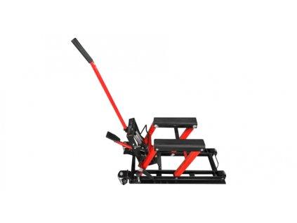 Hydraulický zvedák pro motocykly a ATV, Q-TECH (černý)