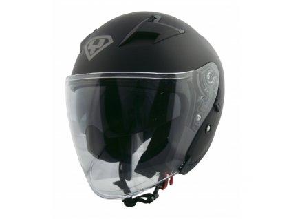 moto helma yohe 878 1 matte black