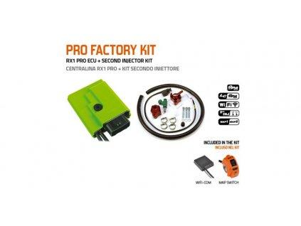 PRO FACTORY KIT řídící jednotky GP1 EVO BASIC s druhým vstřikovačem, GET (kit-ECU+WifiCOM+přepínač GPA+vstřikovač č.2)