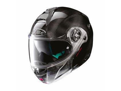 moto helma x lite x 1004 ultra carbon dyad n com carbon scratched chrome chin gueard 3