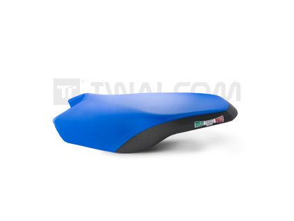 Potah sedla electric blue black pro rally s posltrovanim 1