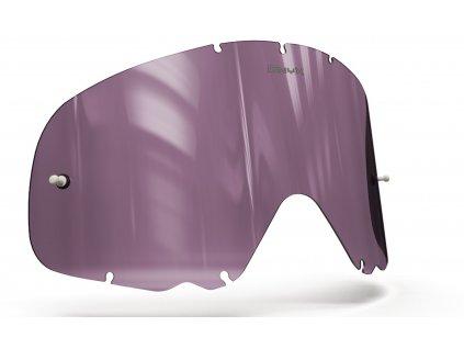 Plexi pro brýle OAKLEY CROWBAR, OnyxLenses (fialové s polarizací)