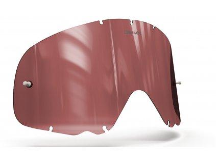Plexi pro brýle OAKLEY CROWBAR, OnyxLenses (červené s polarizací)