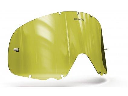 Plexi pro brýle OAKLEY CROWBAR, OnyxLenses (Hi-Vis žluté s polarizací)