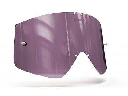 Plexi pro brýle THOR COMBAT/SNIPER/CONQUER, OnyxLenses (fialové s polarizací)