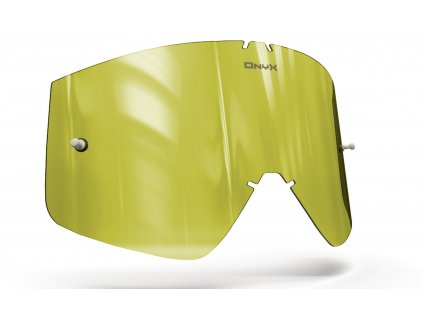 Plexi pro brýle THOR COMBAT/SNIPER/CONQUER, ONYX LENSES (Hi-Vis žluté s polarizací)