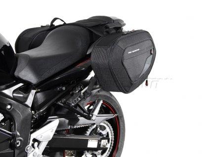 SW-Motech BLAZE tašky sada černá/šedá. Yamaha FZ6N / Fazer (06-10)