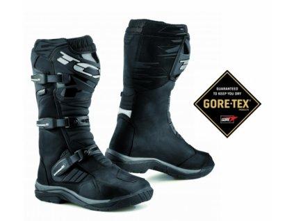 Moto boty TCX BAJA GORE-TEX černé