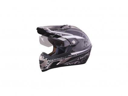 153 helma mx433 3 magnum enduro gloss silver