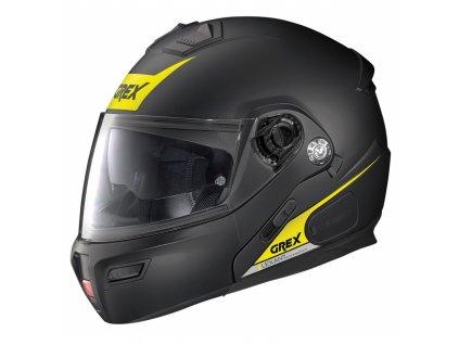 moto helma grex g91 evolve vivid n com flat black 37 (1)