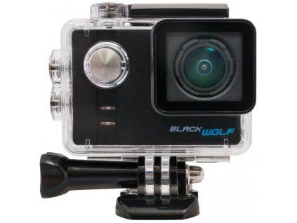 Akční kamera CEL-TEC BlackWolf + baterie navíc zdarma video sleva 4%
