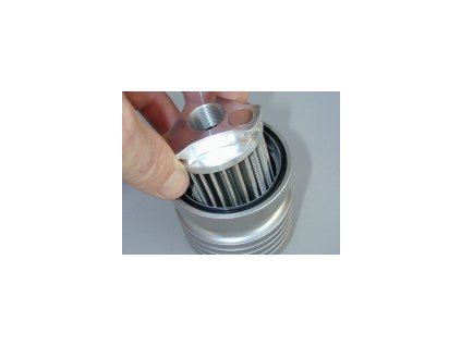 Olejový filtr - nerez ( pratelný)