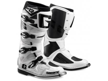 Motokrosové boty - Gaerne - SG12 - bílé
