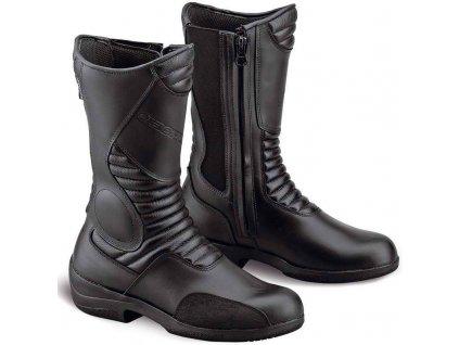 Motocyklové boty GAERNE BLACK ROSE AQUATECH