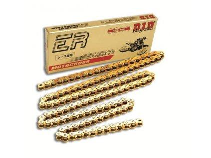 Motokrosový řetěz D.I.D Chain 520ERT2 120 L Zlatá/Zlatá