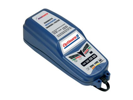 Nabíječka baterií - OptiMate 5 (motobaterie, autobaterie)