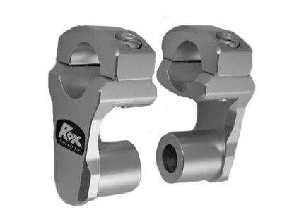 """ROX - Zvýšení řídítek průměru 1 1/8"""" (28mm) o 1,75"""" (44mm) zvlaště vhodné pro BMW F800GS, KTM 950/990"""