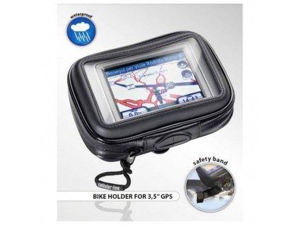 """CellularLine Interphone SM35 - voděodolný držák/pouzdro na řídítka pro GPS navigace 3,5"""""""