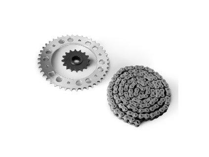 TT® - Kit pastorků a řetězu