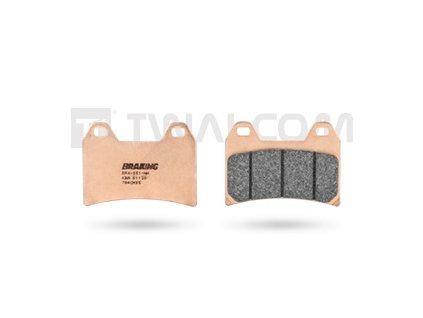 Braking - Přední brzdové destičky CM55 Sintered Pads Set for Front Disc KTM 1090/1190/1290ADV