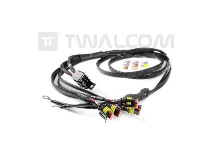 TT - Kompletní svazky kabelů Multiplugs + Pojistková skříňka (4 ATO) pro PRO FACTORY Rally Kit