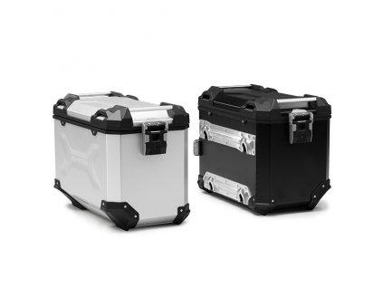 Hliníkový kufr TRAX Adventure 37L levý