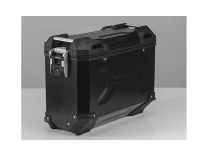 TraX adventure 37 - hliníkový kufr černý pravý