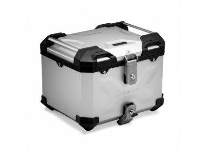 TraX adventure 38 - hliníkový kufr top box stříbrný