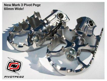 Pivot Pegz - Stupačky MK3 (BMW,Suzuki,Yamaha,Kawasaki,KTM)