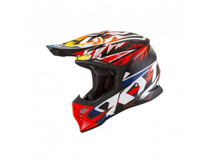 casco cross enduro kit by suomy casco kyt skyhawk temper rosso