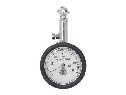 Měřič tlaku pneu - ručičkový