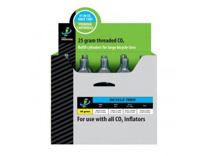 Bombičky CO2 - 25g - 1ks - se závitem