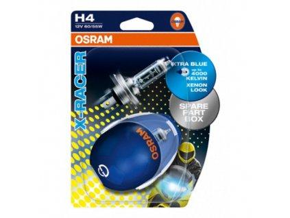 Žárovky OSRAM H4,H7 X-Racer