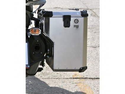 Boční kufry s výřezem Nomada PRO II - černý nebo šedý