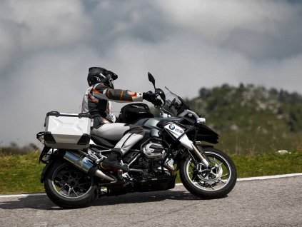 Sada ADVENTURE - BMW R1200GS - stříbrná