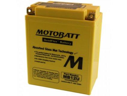 Motobaterie MOTOBATT MB12U 15 Ah