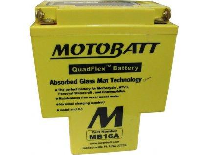 Motobaterie MOTOBATT MB16A 19Ah