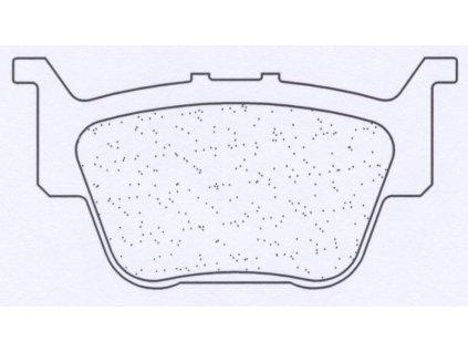 Brzdové destičky CL BRAKES X59 (X55)