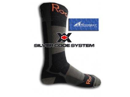 Funkční ponožka Ag+ - Rockway Adventure I