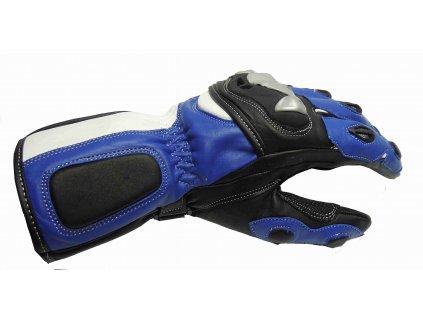 Kožená rukavice na motorku RACE -786