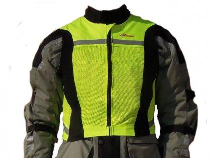 Reflexní vesta na motorku ROCKWAY