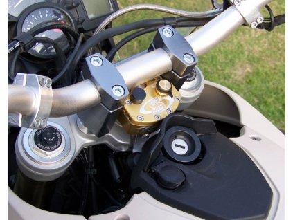 Scott - tlumič řízení, kompletní kit BMW 800GS