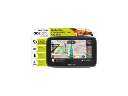 TomTom GO 5200 navigace Lifetime Mapy Zdarma - Wifi