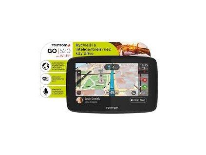 TomTom GO 520 navigace Lifetime Mapy Zdarma - Wifi