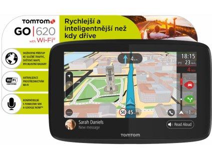 TomTom GO 620 navigace Lifetime Mapy Zdarma
