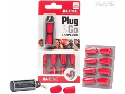 ALPINE - Sada špuntů do uší