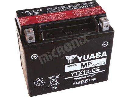 Motobaterie YUASA YTX12-BS pro V-Strom 650,1000