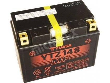 Moto baterie YUASA YTZ14S pro KTM LC8 950Adventure,Superenduro, 990 Adventure, SuperDuke, Supermoto,