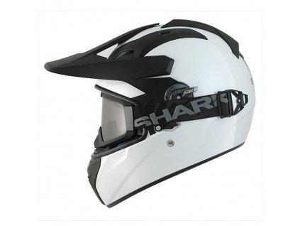 Moto přilba Shark Explore-R Blank